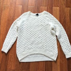 Cream Sweater.